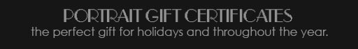 portrait gift certificat from harder photography
